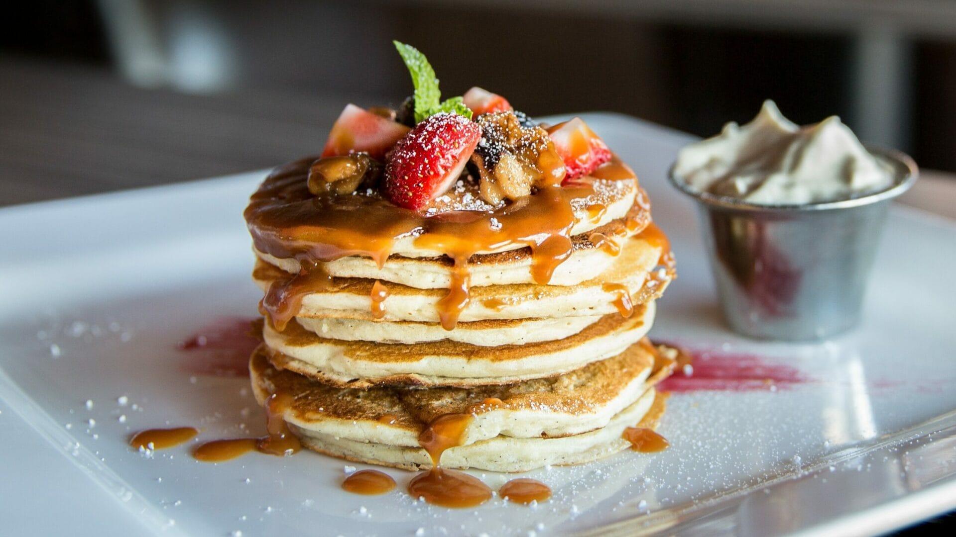 Fruehstuecken-im-Hofgut-Wagrain-Pancakes