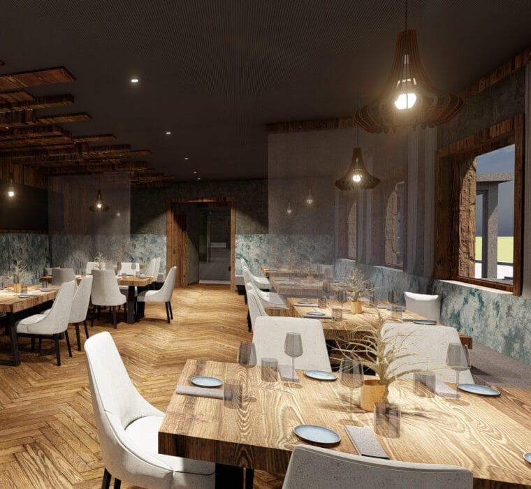 Hofgut-Wagrain-Apartment-Lifestyle-Resort-Impressionen-Restaurant-vaMoos-Hoch